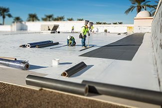 single ply commercial roofing