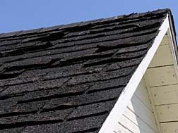 damaged roof