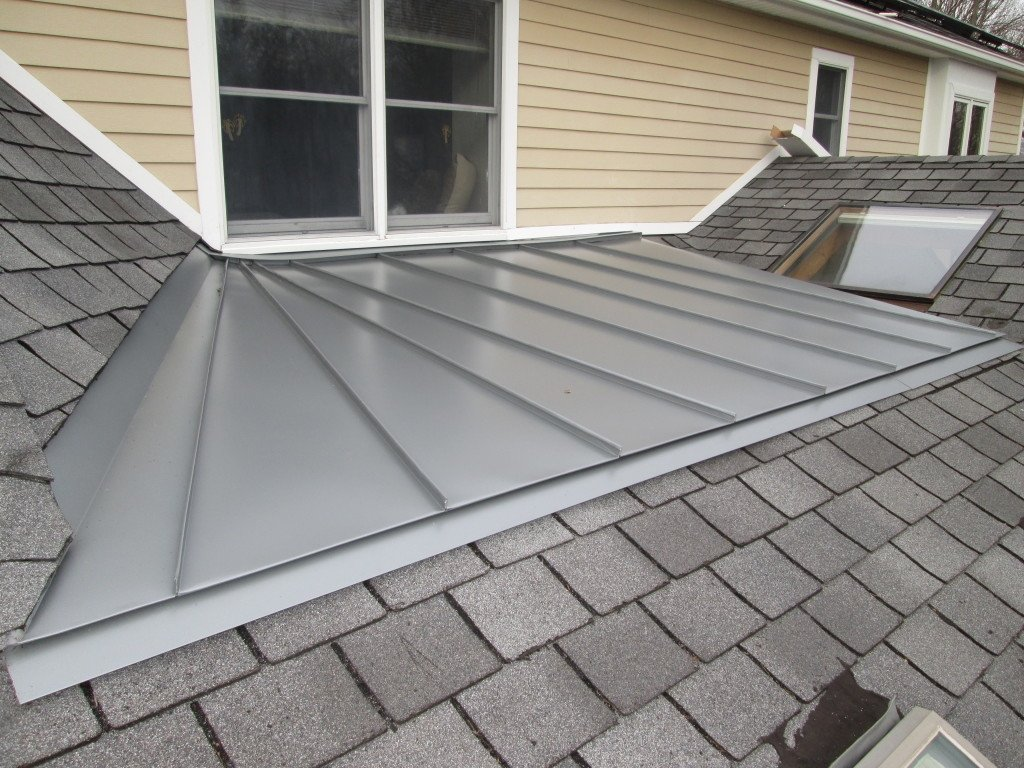 Low-Slope Materials Roof
