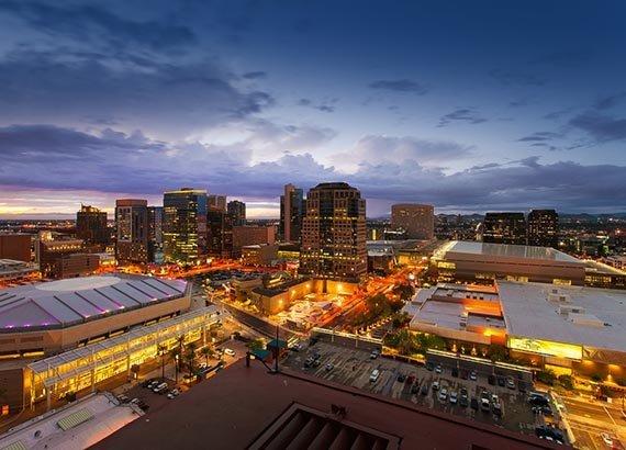Phoenix Skyline, Arizona